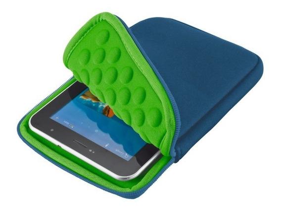 Capa Case Tablet 7-8 135x200mm Anti-choque Neoprene Azul
