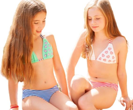 Bikini Tutta La Fruta Triangulo Culotte Rapunsel 415-20