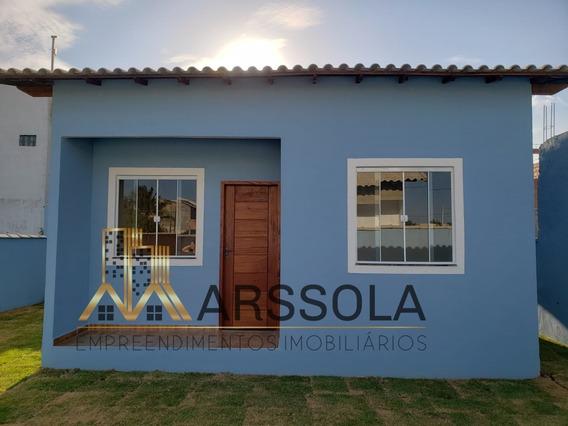 Linda Casa Com 2 Quartos Em Unamar (tamoios) - Cabo Frio