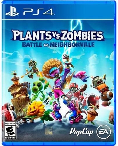 Imagen 1 de 8 de Plants Vs Zombies Battle For Neighborville Ps4 Juego Fisico