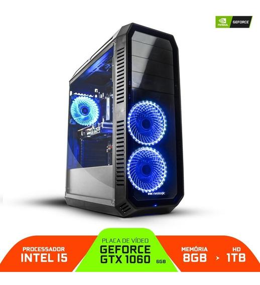 Pc Gamer Smart Pc Smt81134 Intel I5 8gb (gtx 1060 6gb) 1tb