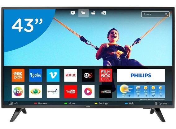 Smart Tv Led 43 Philips Full Hd 43pfg5813/78 - Conversor Digital Wi-fi 2 Hdmi 2 Usb