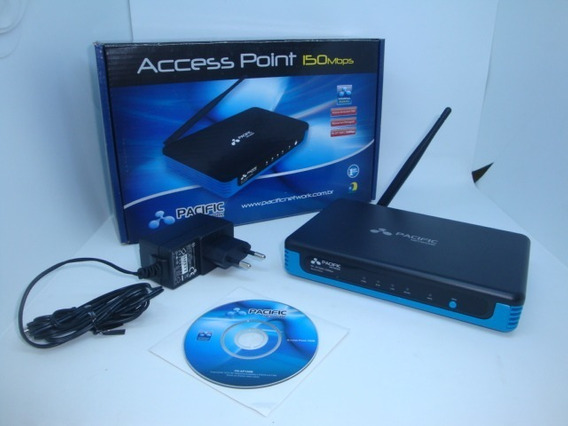 Kit C/ 24 Repetidores Pacific Network Access Point 150mbps