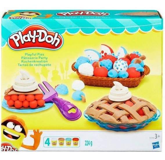 Massa De Modelar Tortas Divertidas Play-doh Hasbro - Amarel