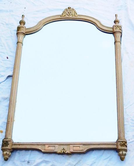 El Restaurador - Espejo Biscelado Antiguo Marco Frances