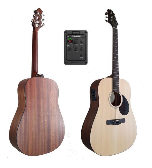 Guitarra Electroacústica Samick Gd50opn Eq Microfono Fishman
