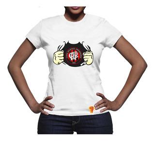 Camiseta Atlético Paranaense Feminina T Shirt 2018 Futebol