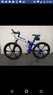 Bicicleta Bmw X6 Dobrável Aro 26