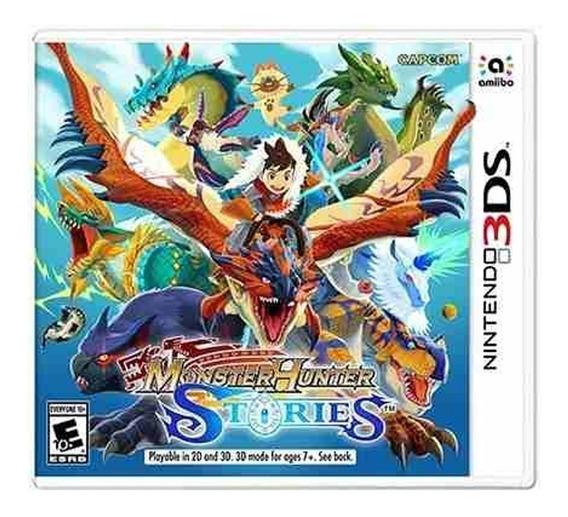 Monster Hunter Stories Mídia Física Nintendo 3ds Lacrado