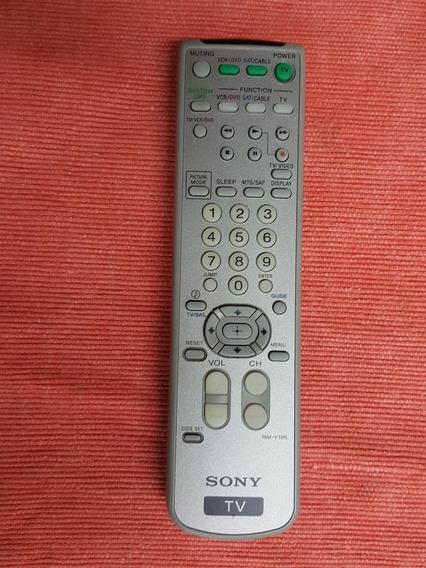 Control De Mando Remoto Sony Rm-y195 Televisor Sony Kv-32fs