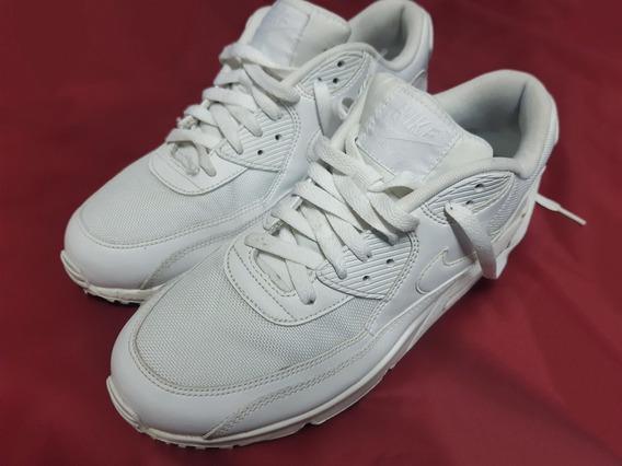 Nike Air Max 90 Essential Blancas/white 100% Originales