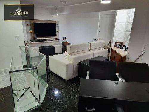 Cobertura Com 3 Dormitórios À Venda, 110 M² - Morumbi - São Paulo/sp - Co2015