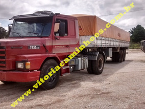 Scania 112ano 86 Com Carreta 87 Whats 041 996344636