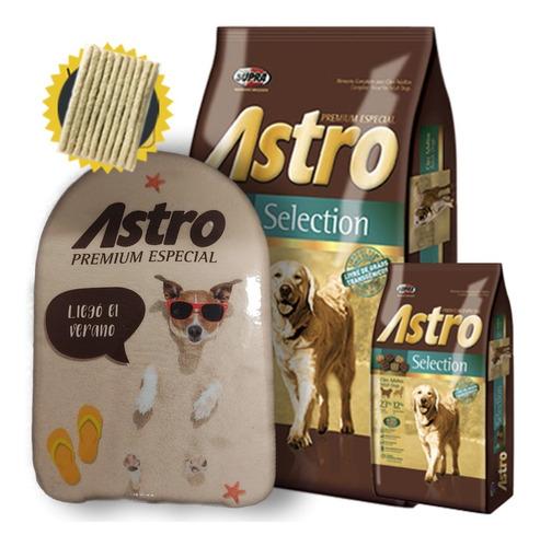 Imagen 1 de 3 de Astro Perros Adultos Selection 15k + 2k + Regalos Y Envío*