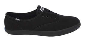 Tênis Keds Champion Woman Canvas Preto/preto Kd10023140