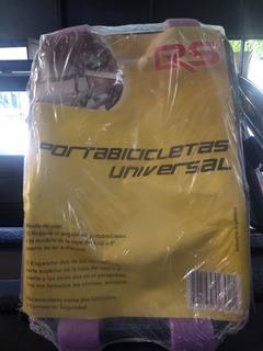 Portabicicleta Universal Auto Reforzado 2 Bicis - Racer Bikes