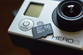 Gopro Hero 3 White Edition Orig. + Microsd 16gb + Acessórios
