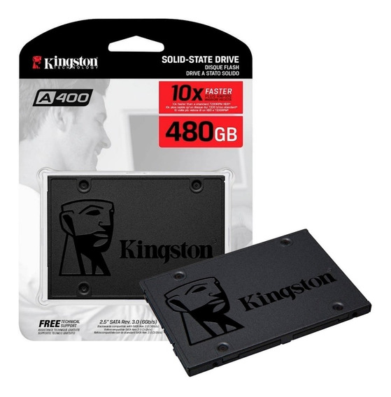 Hd Ssd Kingston 480gb 6gb/s A400 Pc Notebook