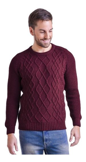 Sweater Cuello Redondo Rombos Mauro Sergio !