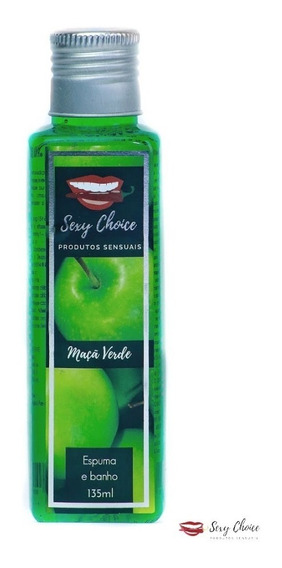 Sabonete Espuma Banho Maçã Verde Banho Com Muita Espuma
