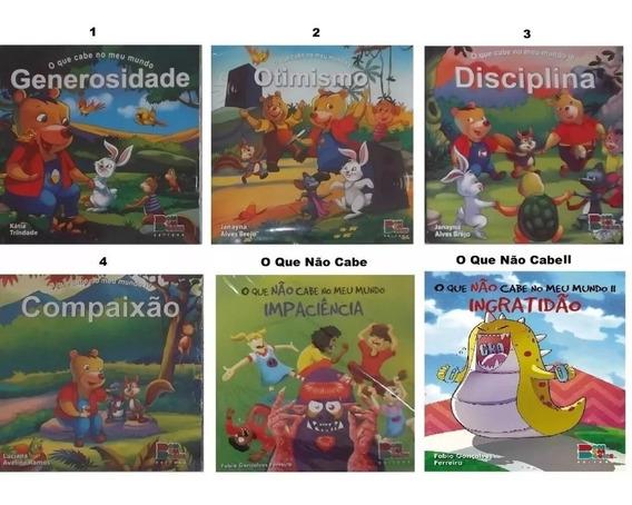 Kit O Que Cabe 1,2,3 E 4 + O Que Não Cabe 1 E 2 -c/ 60 Vol.