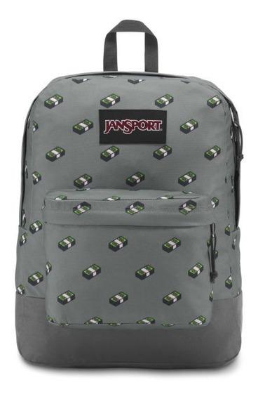 Jansport Superbreak Blacklabel 100% Original