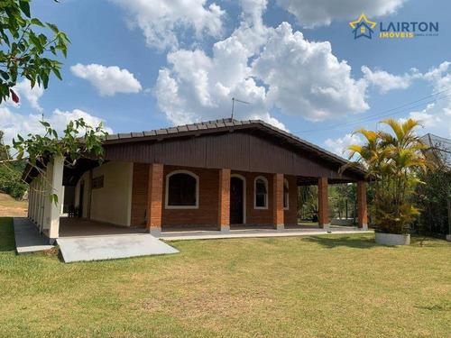Chácara À Venda, 1800 M² Por R$ 450.000,00 - Iara - Atibaia/sp - Ch1341