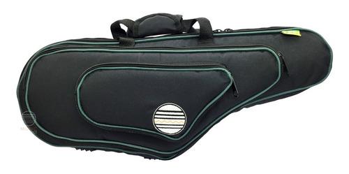 Bag Capa Sax Alto Super Luxo Alcochoado Ch200 Alça Mochila