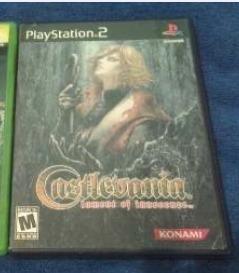 1 Disco De Castlevania De Play Station 2 Original