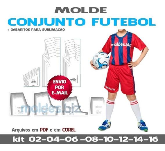 Uniforme Infantil Futebol - Camisetas E Calções - Sublimação