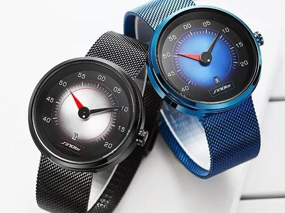 Relógio Masculino Painel Do Carro, Design Criativo Sinobi