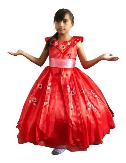 Vestido Elena De Ávalor Princesa Talla 3 A La 8