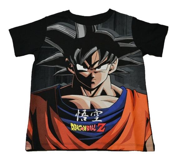 Playera Kakaroto Goku Dragon Ball Z Super
