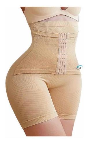 Imagen 1 de 10 de Panty Faja Short Reductora Moldeadora Doble Compresión G 114