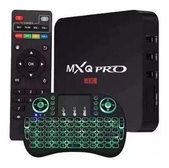 Aparelho Para Transforma Tv Comum Em Smartv + Teclado