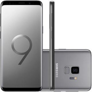Samsung Galaxy S9 Cinza 128gb 4gb Camera 12mp De Vltrine