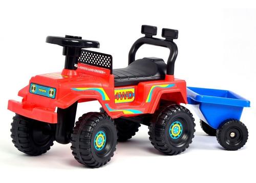 Andador Caminador Auto Andarin Con Trailer Bebe Niño