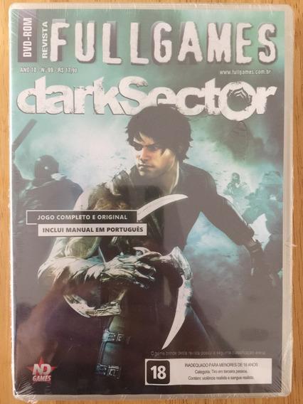 Jogo Pc Dvd Revista Fullgames - Dark Sector - Novo Lacrado!!
