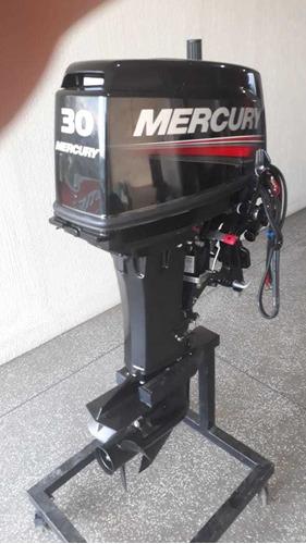 Mercury 30 Eho - Motor De Popa Mercury 30 Hp C/ Part. El 2 T