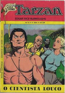 1974 Hq Quadrinhos Tarzan Nº 11 - 4ª Série Editora Ebal