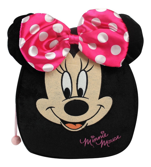 Mochila Peluche Para Niña Minnie Mouse Disney