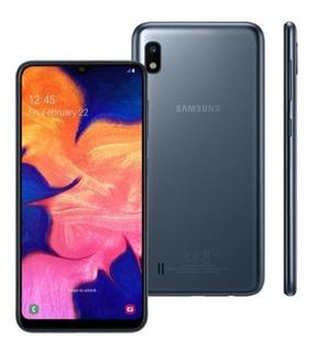 Samsung A10 Preto 32gb Tela 6.2 Dual Chip