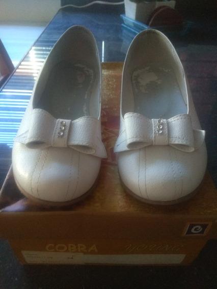 Zapatos Primera Comunion Talla 34 De Cuero