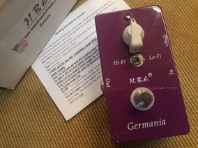 Pedal Hbe Homebrew Germania - Zeradásso !