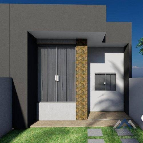 Imagem 1 de 18 de Casa Com 3 Dormitórios À Venda, 81 M² Por R$ 210.000,00 - Jardim Aliança - Londrina/pr - Ca1522