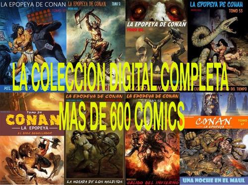 La Epopeya De Conan Colección Completa  +600 Numeros Digital