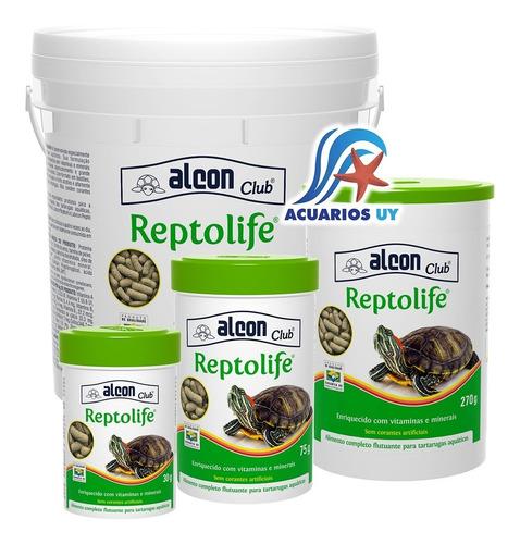Alimento Para Tortugas Acuáticas. Labcon Reptolife 75g
