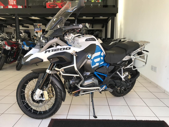 Bmw R 1200 Gs Adventure Premium Branca 2018
