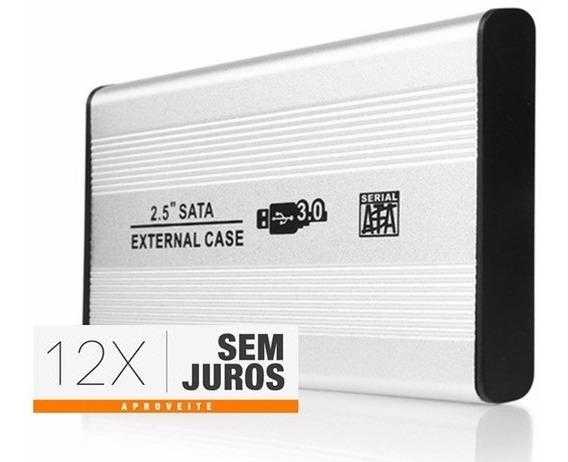 Hd Externo - 250gb - Usb 3.0 - Novo E Com Garantia - Em 12x