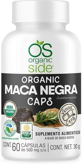 Maca Negra Orgánica 60 Cápsulas